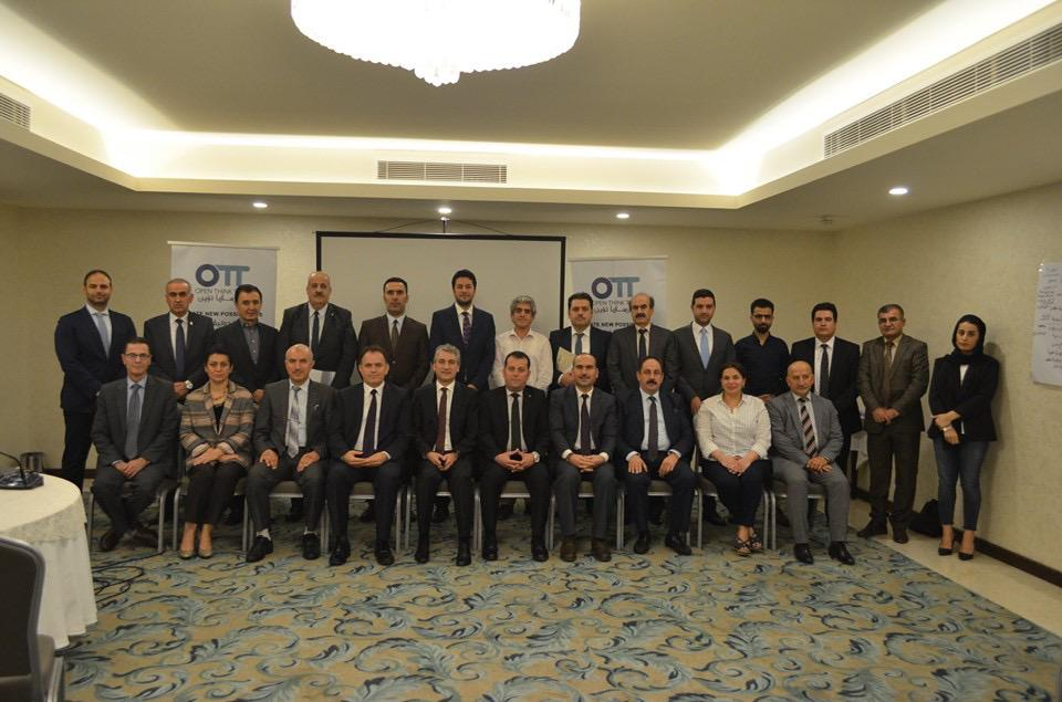 Training course for the Improvement of the Spokespersons in the KRI