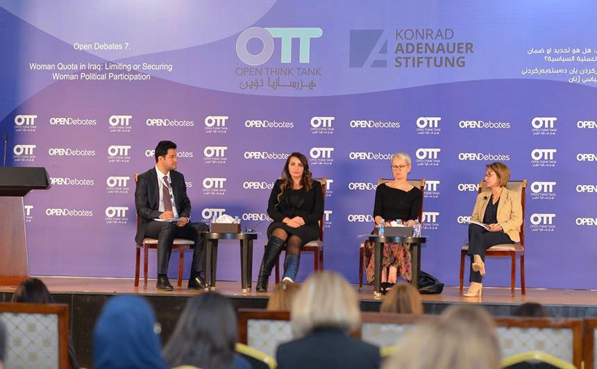 Conference Report: Women quota in Iraq: limiting or securing women political participation.